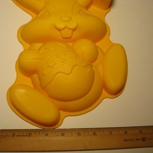 CMSHOME Kitchen - Silicone Easter Bunny Rabbit Cake Dessert Pan Mold